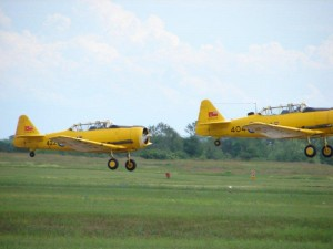 Canadian Harvard Aircraft