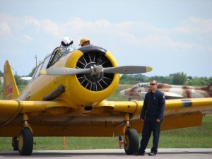Canadian Harvard Aircraft Radial Engine