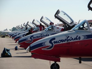 Snowbirds at the Waterloo Aviation Expo and Air Show