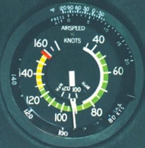 Airspeed Indicator Cessna 172
