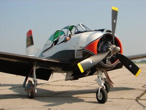 North American Aviation T-28B Trojan Aircraft