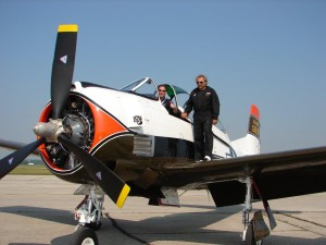 North American T-28B Trojan - Danny Richer