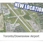 Toronto Downsview Airport - Downsview Park Aerial Map