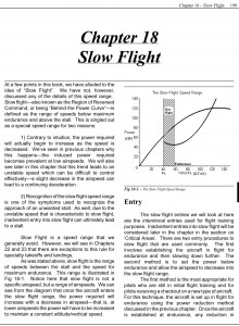 Applied Aerodynamics - Slow Flight