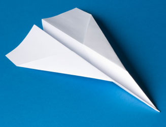 Paper Airplane - What makes it Fly?
