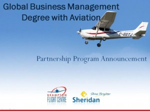 Global Business Management Degree with Aviation Program - PBGBM