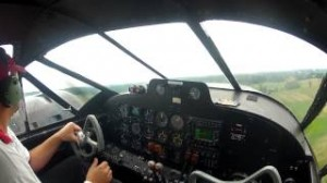 Matt Younkin - Beech 18 Cockpit Video