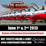 Waterloo Air Show 2013 - #WAS2013
